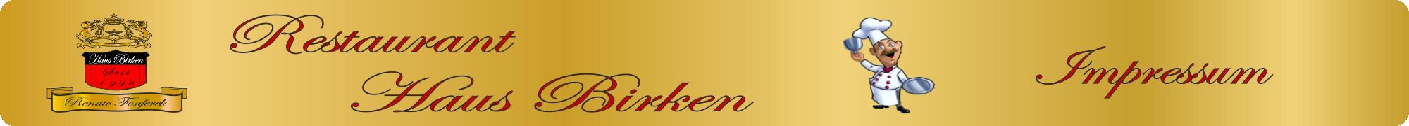 Logo Impressum Haus Birken
